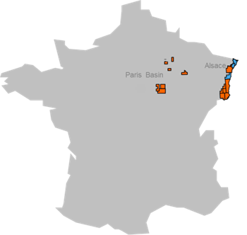 Subsidiaries in France